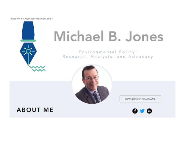 It appears Michael B. Jones has been abandoned the profesion of law!