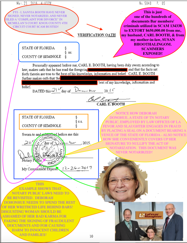 LAW OFFICES OF LAFEVOR AND SLAUGHTER EXPOSED