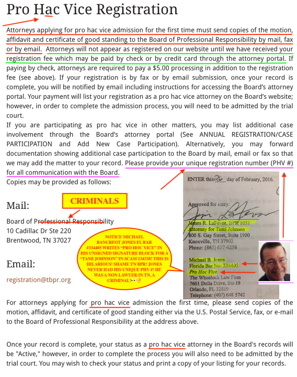 TENNESSEE BPR CORRUPTION EXPOSED - BOARD OF PROFESSIONAL RESPONSIBILITY IS CORRUPT