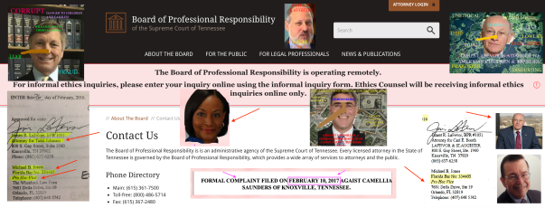 TENNESSEE BOARD OF PROFESSIONAL RESPONSIBILITY AND Supreme Court RULE 19