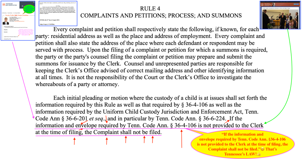 FOURTH CIRCUIT COURT DIVISION IV LOCAL RULES